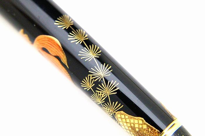 AGJ Maki-e Fountain Pen Goldfish08