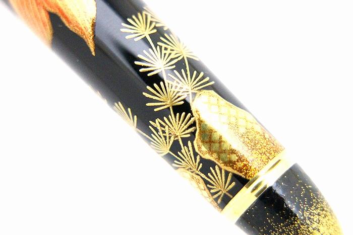 AGJ Maki-e Fountain Pen Goldfish09