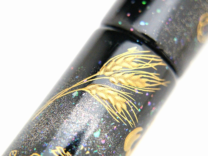 AGJ Maki-e Fountain Pen 12 Ecliptical Constellations11
