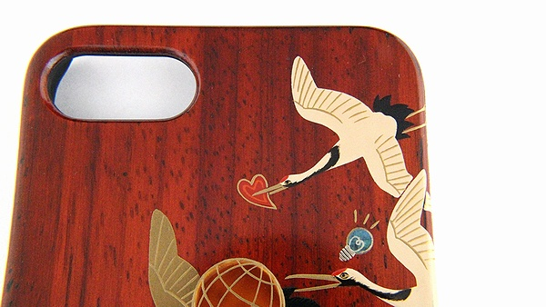 AGJ Maki-e iPhone Case Cranes03