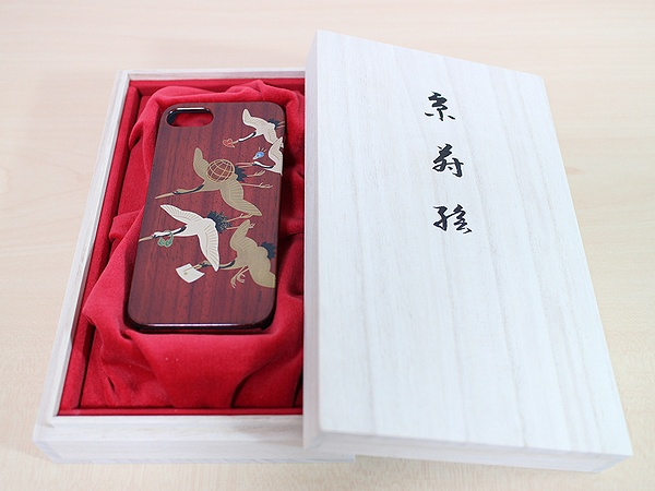 AGJ Maki-e iPhone Case Cranes08