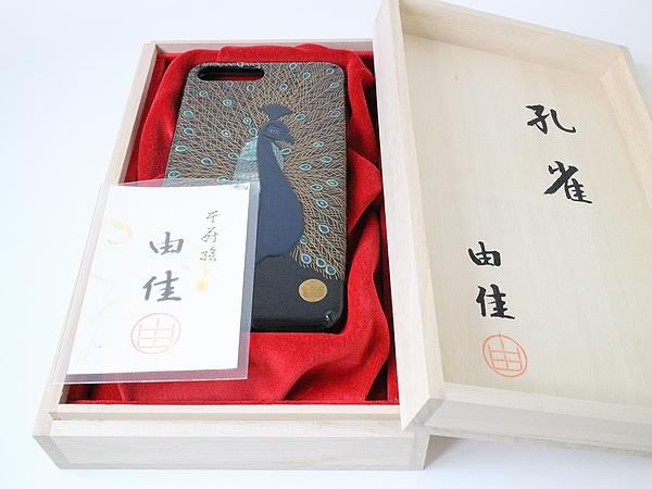 AGJ Maki-e iPhone Case Peacock09