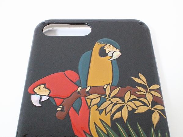 AGJ Maki-e iPhone Case Parrot03