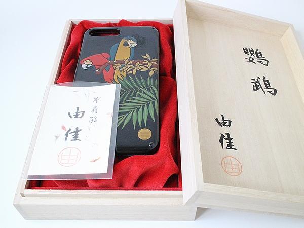 AGJ Maki-e iPhone Case Parrot09