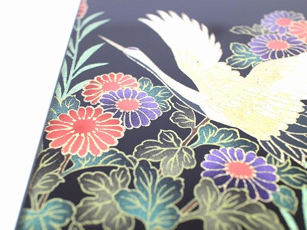 AGJ Kimono-Glass Dish crane09