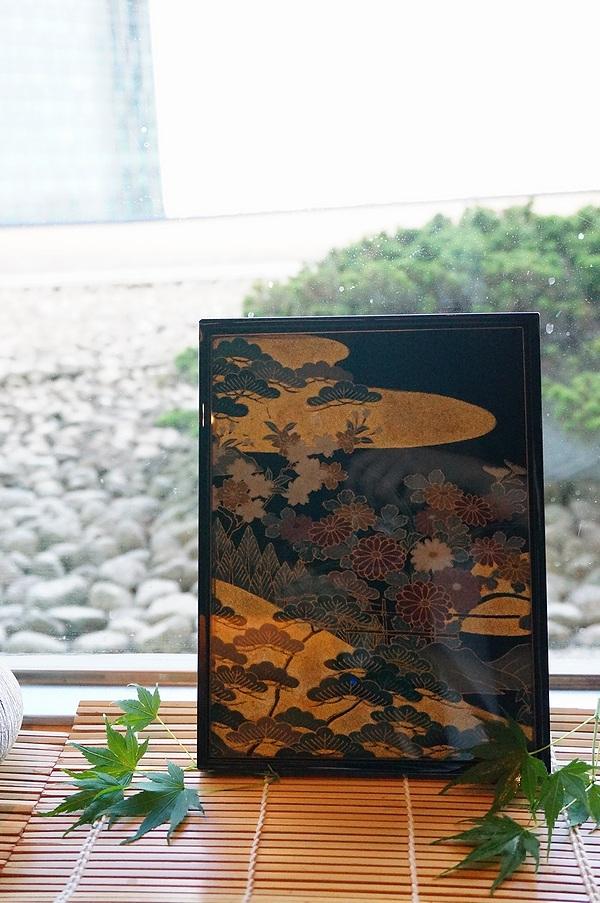 AGJ Kimono-Glass Dish pine05
