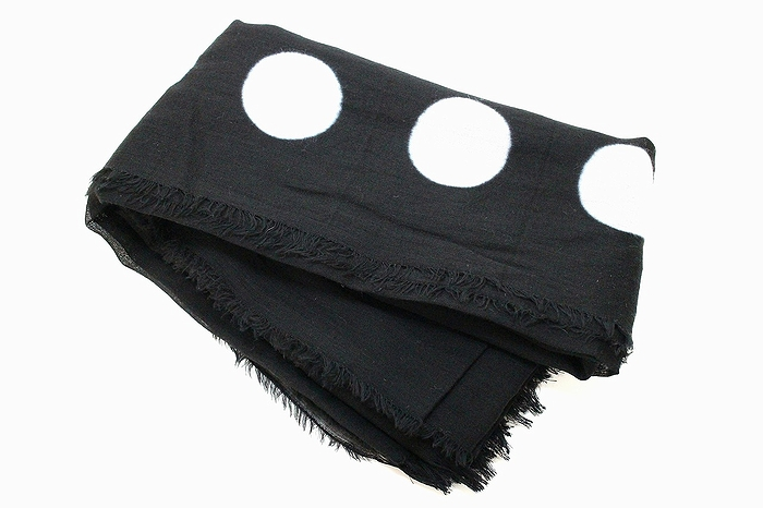 AGJ Stole Japanese traditional Black dyeing Crest 2