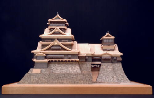 Kumamoto Castle Model Kit Gt Japanese Toy Gt Model Kit